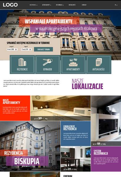 strona internetowa apartamenty