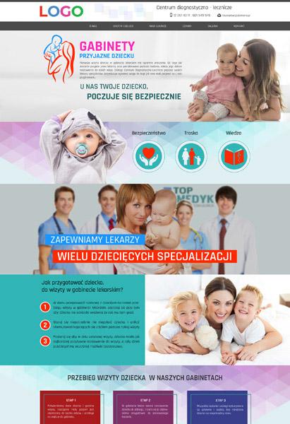 strona internetowa gabinety lekarskie