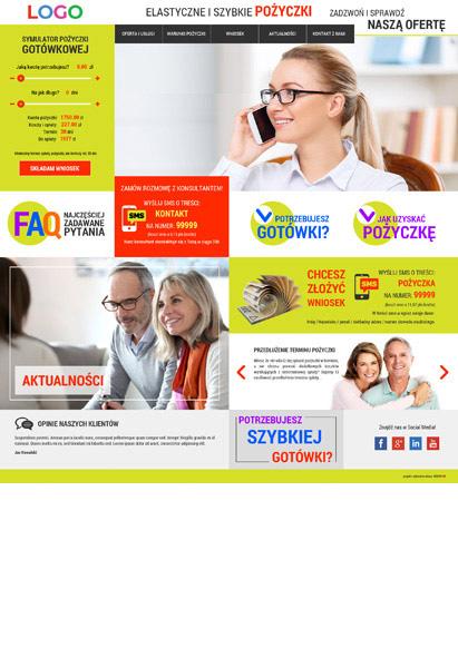 strona internetowa kredyty