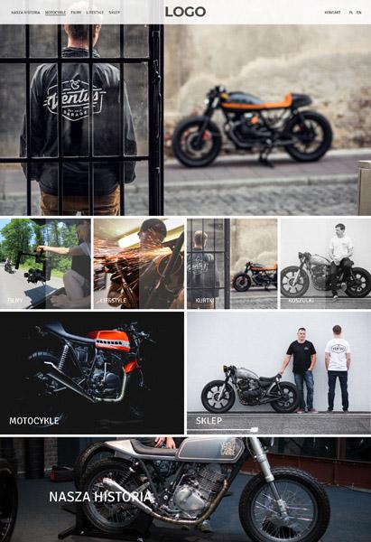strona internetowa motocykle