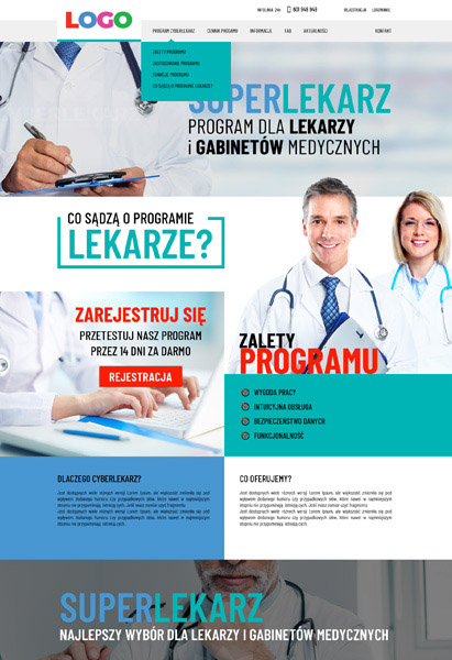 strona internetowa program lekarski