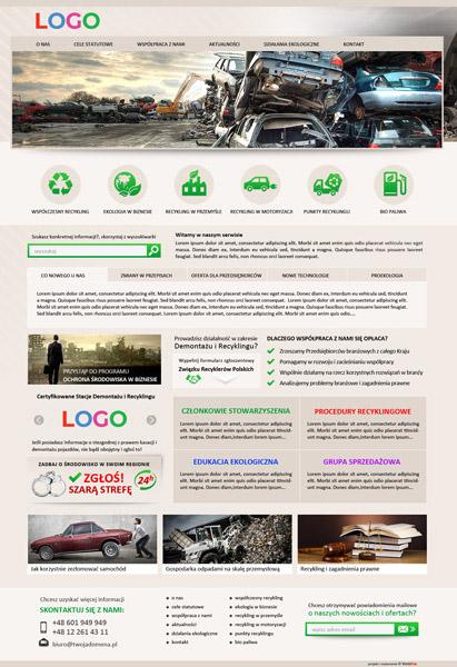 strona internetowa recykling