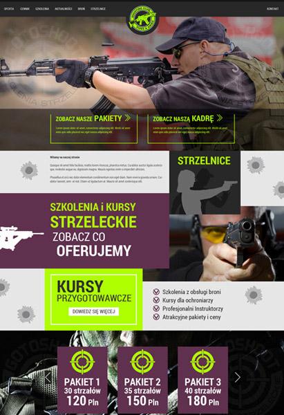 strona internetowa strzelanie