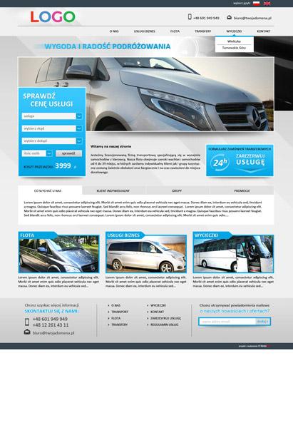 strona internetowa transfery