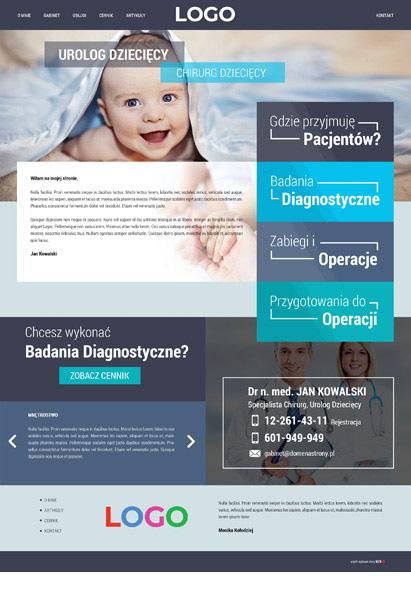 strona internetowa lekarz urolog